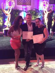 Chloe Arnold with Derek Hough & Tessandra Chavez! - August 30, 2015 Source: SyncLadies twitter